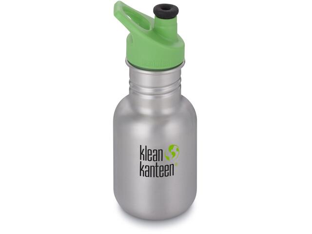 Klean Kanteen Kid Classic Bottle Sport Cap 355ml Kids, brushed stainless
